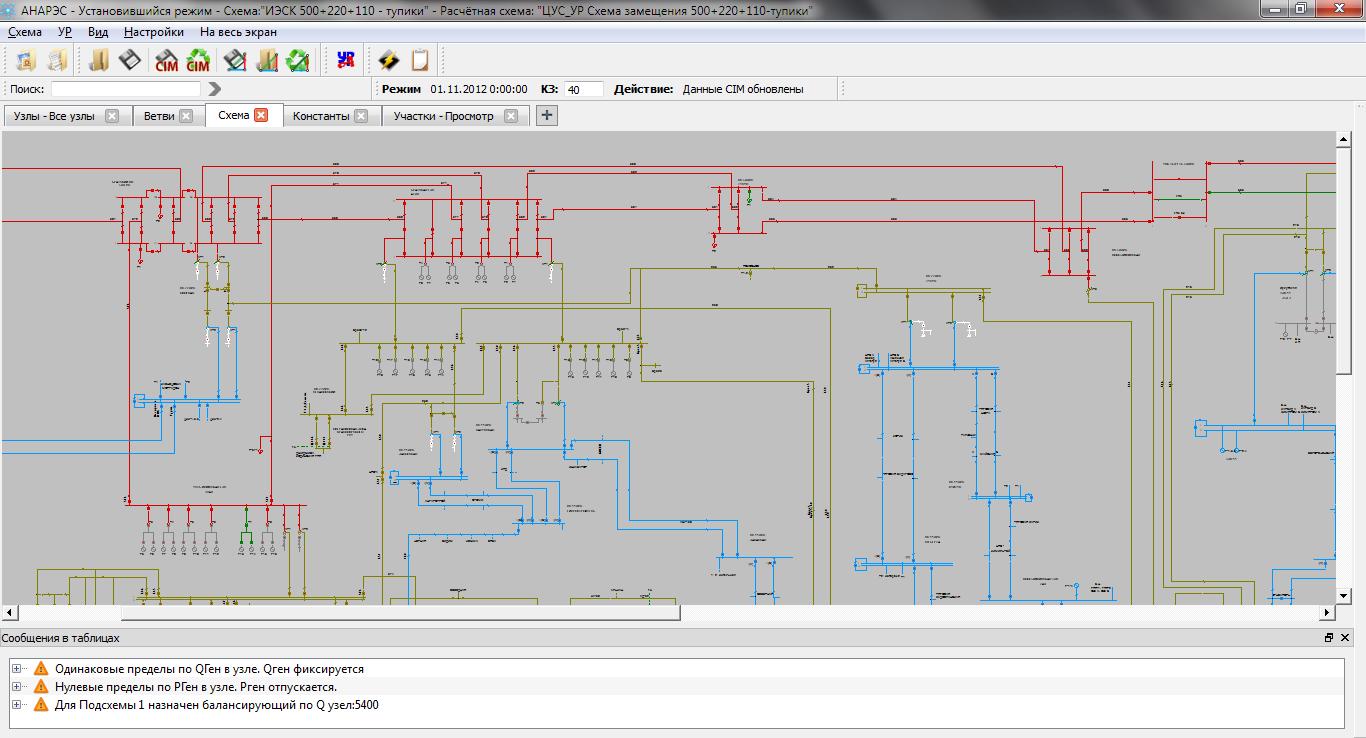 Процессор в электрических схемах